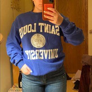 Champion saint Louis university sweatshirt